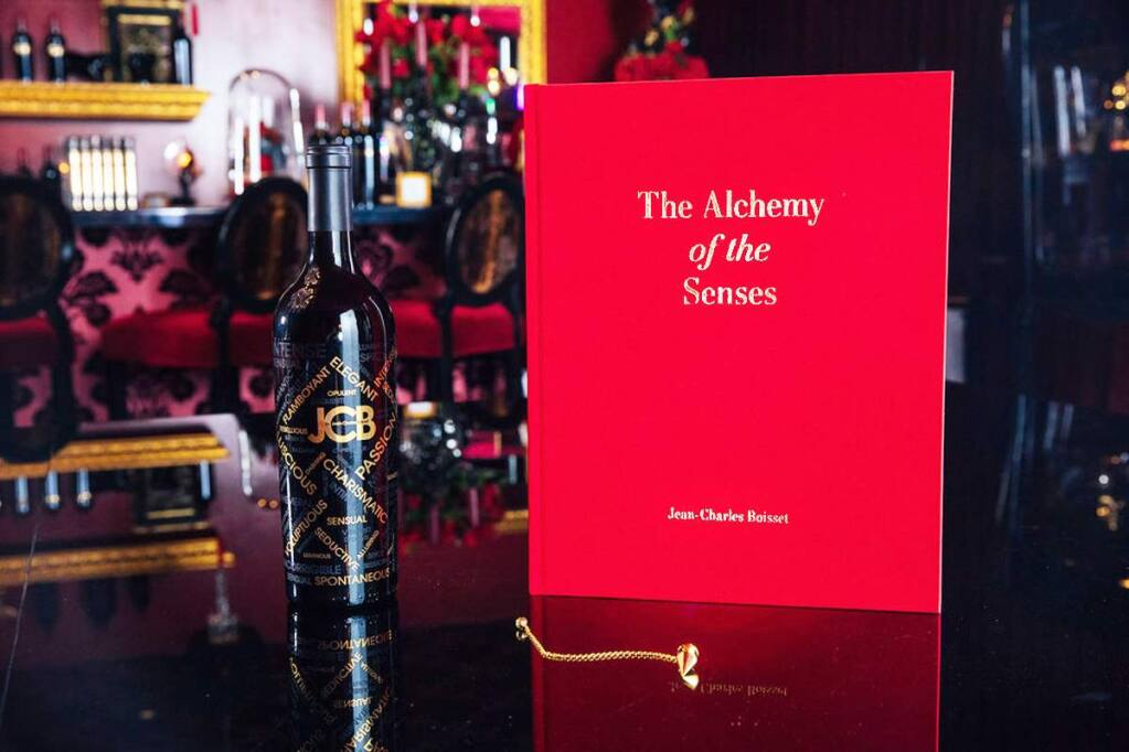 'The Alchemy of the Senses' is a 10-pound interactive wine book created by Jean-Charles Boisset. (Alexander Rubin)