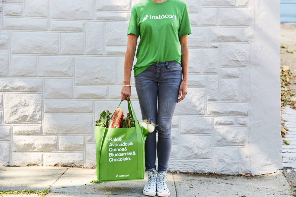 Instacart now delivers to Sonoma.