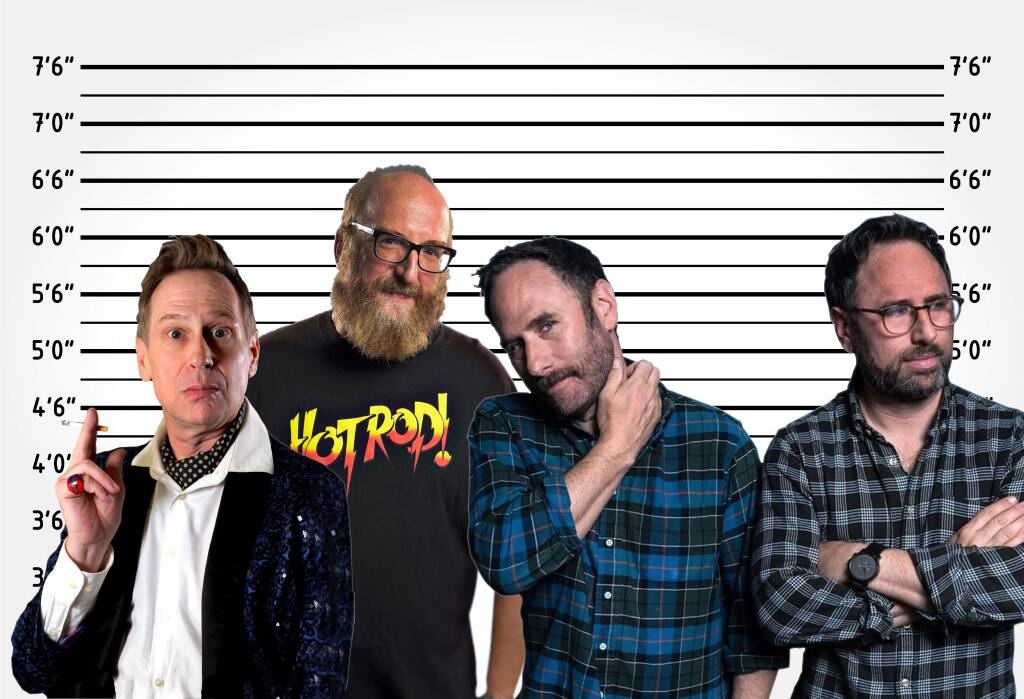 Scott Thompson, Brian Posehn and the Sklar Brothers are scheduled to perform at the Pet-a-Llama Comedy Festival. (COURTESY PHOTO)