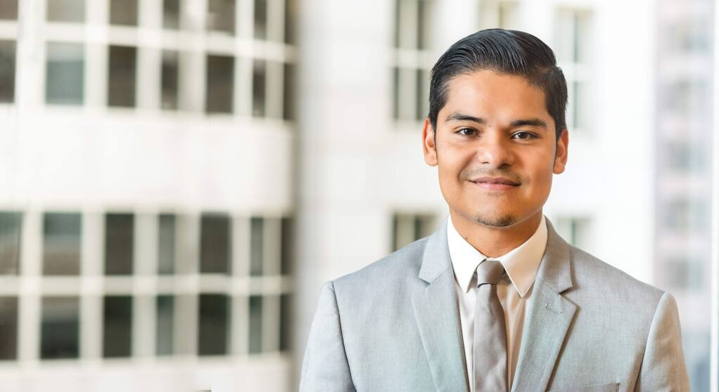 Alan Alvarez, 33, a senior manager for BPM in Santa Rosa, is one of North Bay Business Journal's Forty Under 40 notable young professionals for 2019. (Albert Law photo)