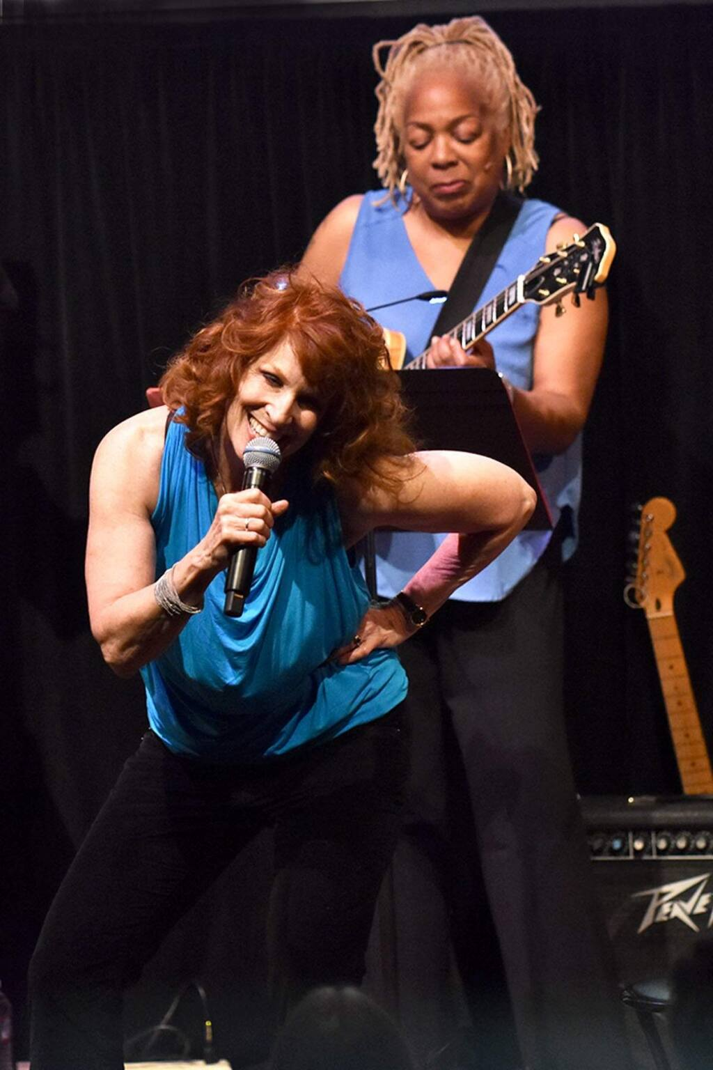 L to R: Pat Wilder (guitar), Pamela RosePHOTO CREDIT: JANE HIGGINS