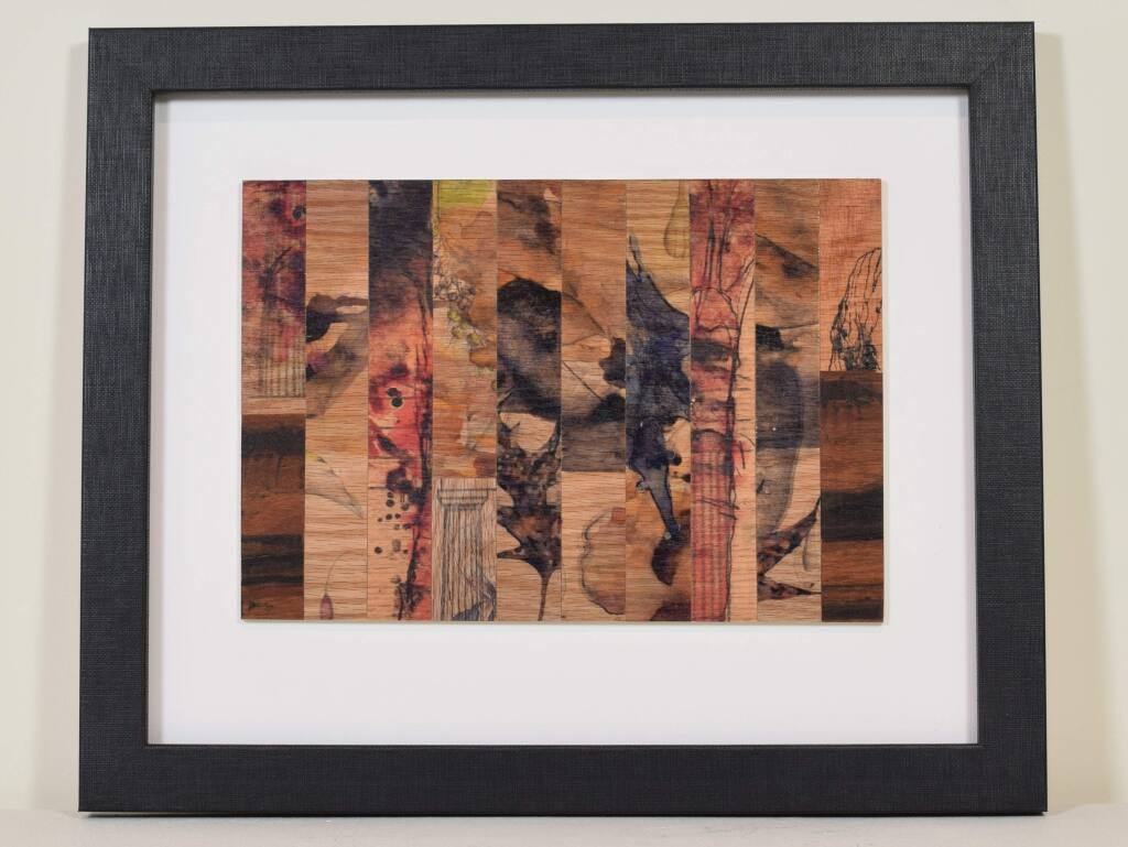 This untitled work, created in 2014 by Bob Nugent, is part of the Benziger family's Imagery art collection donated to Sonoma State University. ( SONOMA STATE UNIVERSITY )