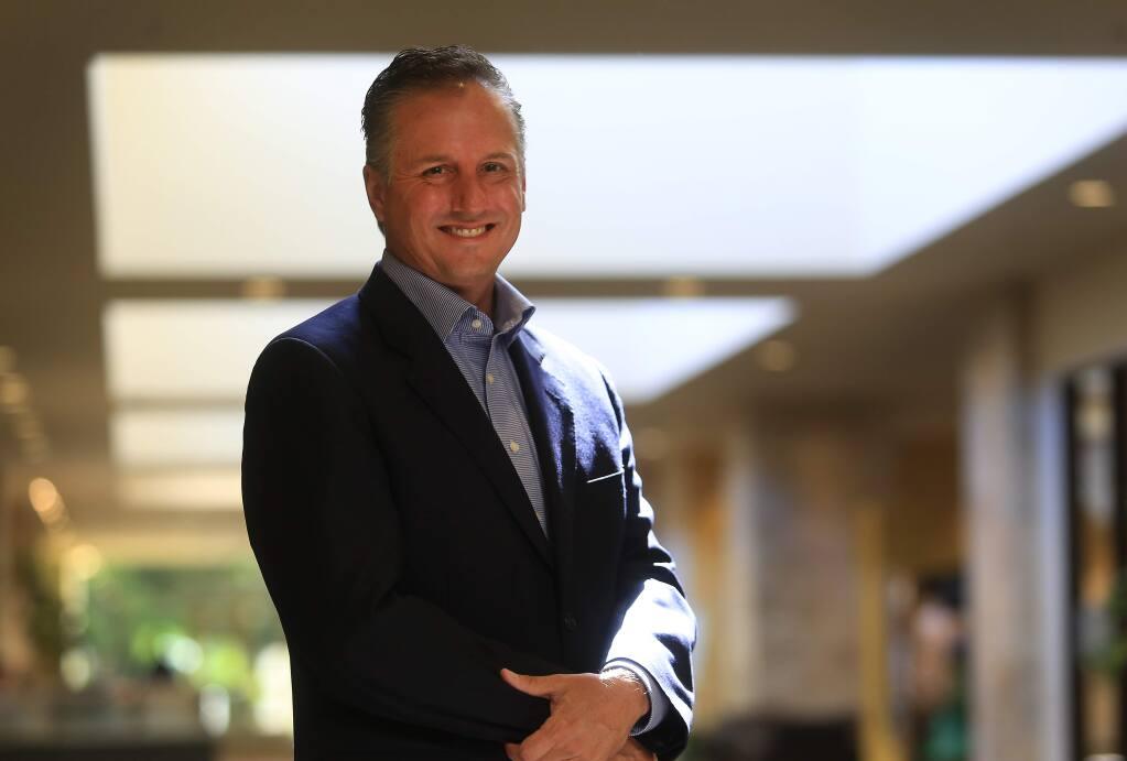 Redwood Credit Union CEO Brett Martinez, 2015. (Kent Porter / Press Democrat)
