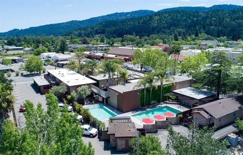 Dr. Wilkinson's Hot Springs Resort in Calistoga (courtesy of CBRE)