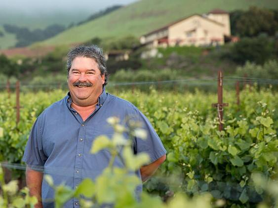 Mike Crumly retired as vice president of vineyard operations at Gloria Ferrer Caves & Vineyards in January 2021. He came to the vintner in 1986. (courtesy of Freixenet Mionetto USA)