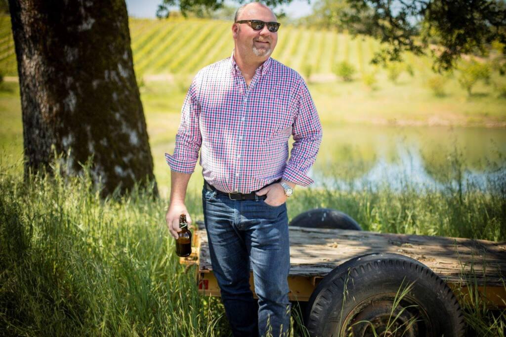 Jeff Cichocki, the winemaker of Ukiah's Bonterra Wine. (Bonterra Wine)