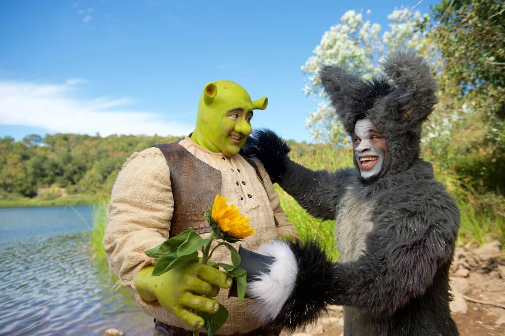 Danny Banales stars as 'Shrek.'