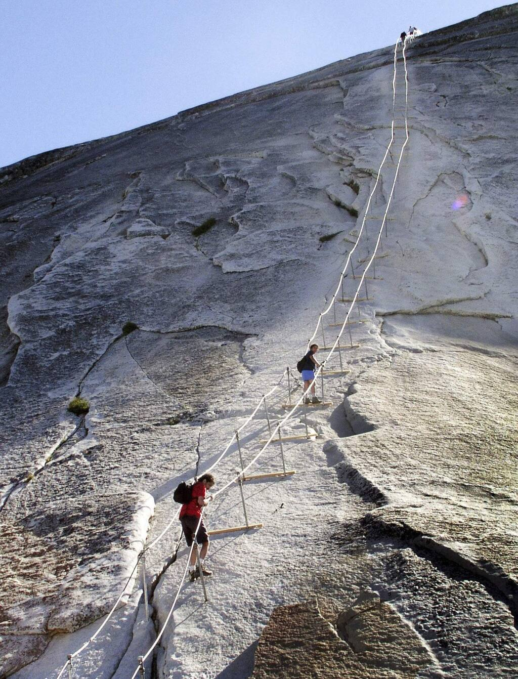 Hiker Dies After Yosemite S Half Dome Trail Fall