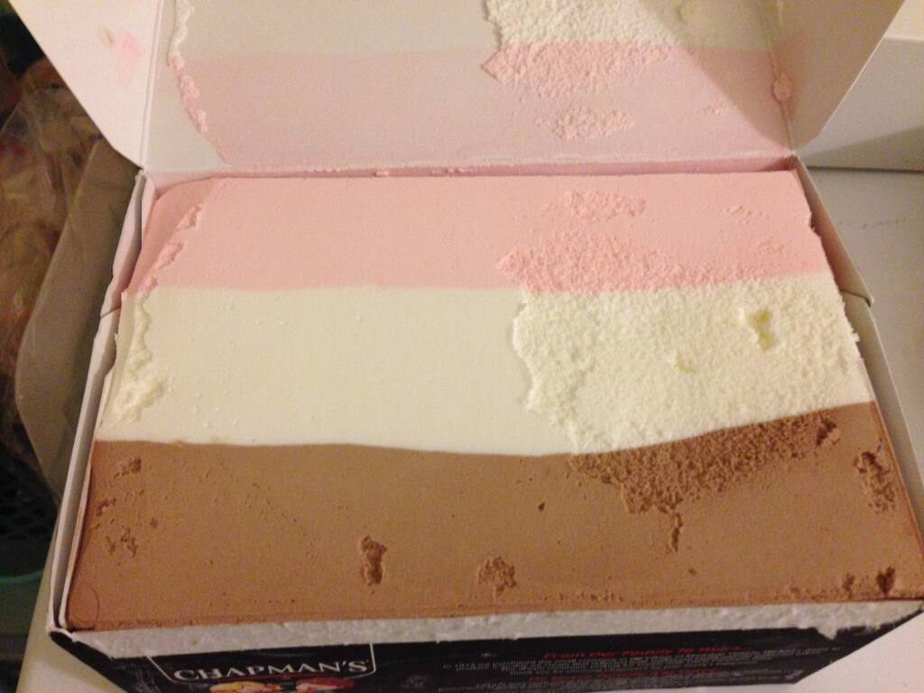 Letter writer nostalgic for when ice cream came in a 'brick.'