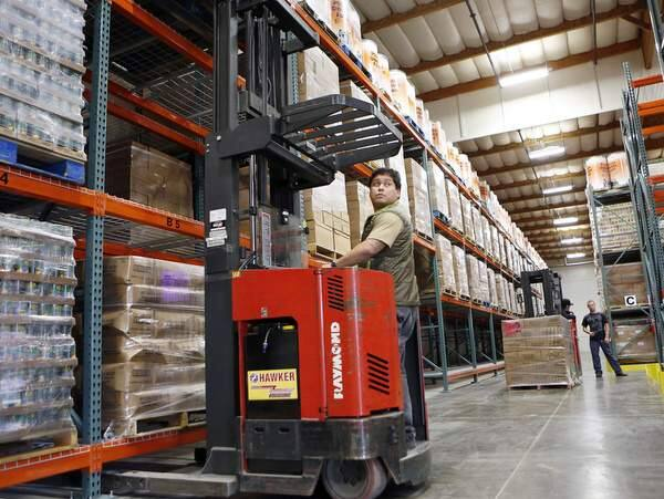 Redwood Empire Food Bank expands into new digs