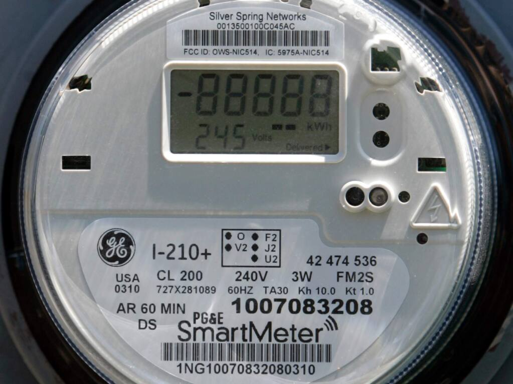 PG&E SmartMeter.