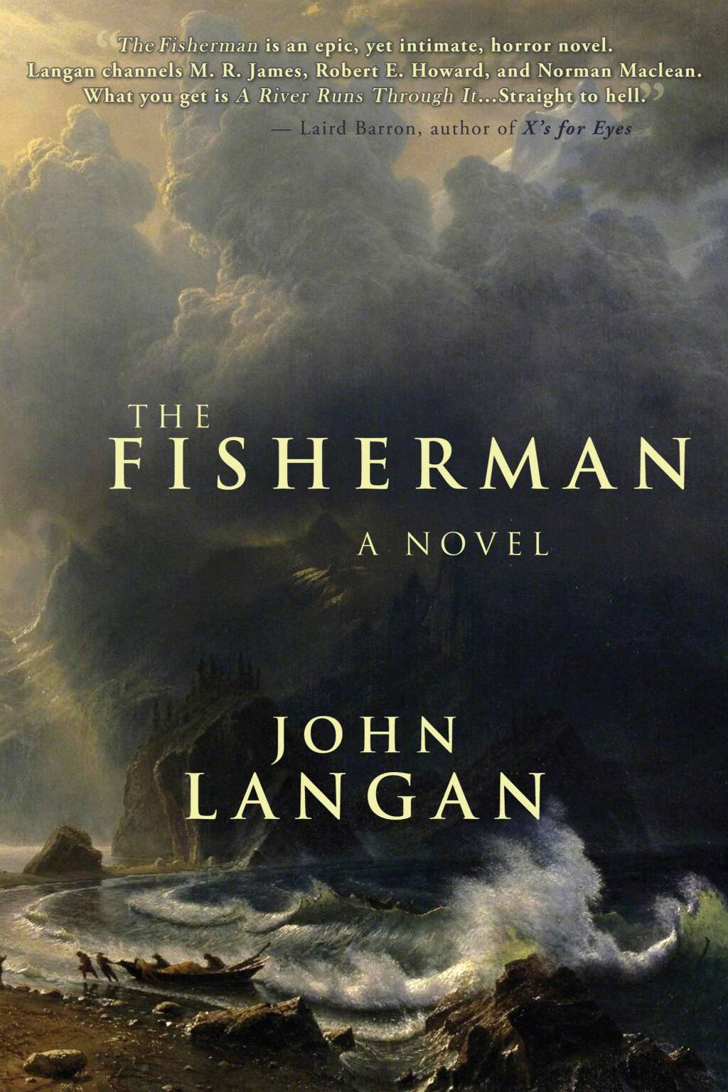 Petaluma's Word Horde Books' 2016 'The Fisherman' was just named the 15th best horror novel of the last decade.