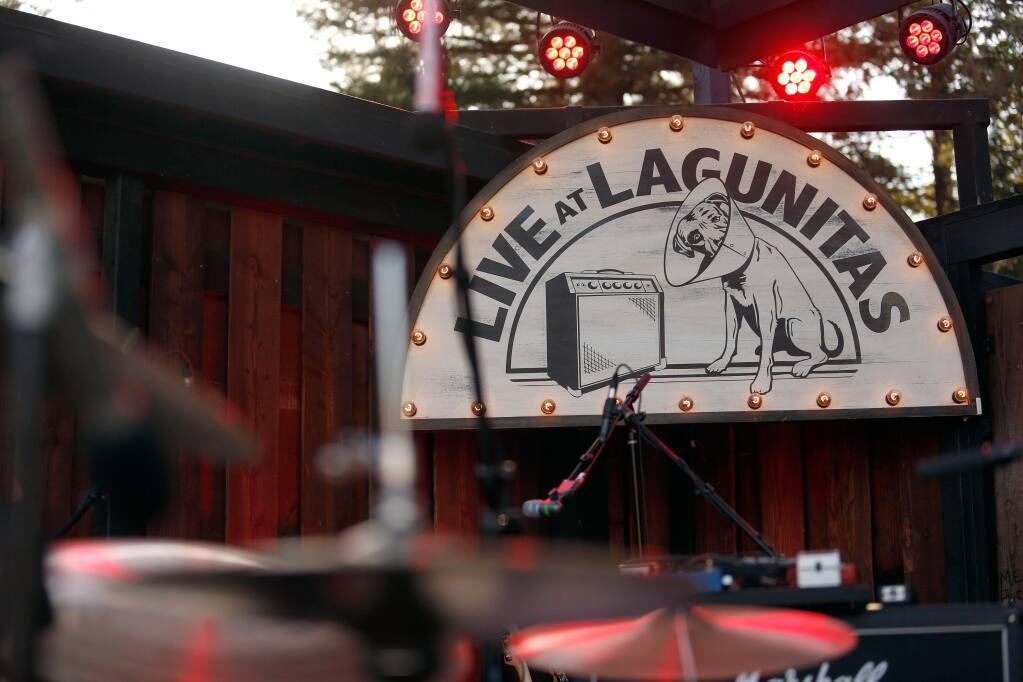 The amphitheatre at Lagunitas in Petaluma. (Alvin Jornada / The Press Democrat)