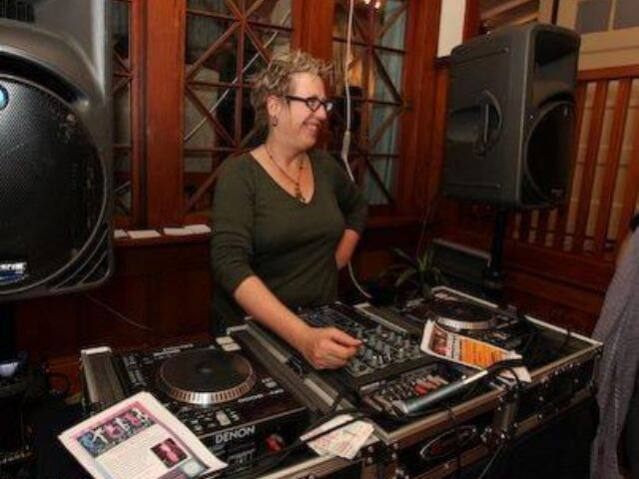 Val Richman, or DJVal, has volunteered her time as DJ for a lot of Petaluma nonprofit fundraisers. She said she loves to see a dance floor full of smiling happy people.