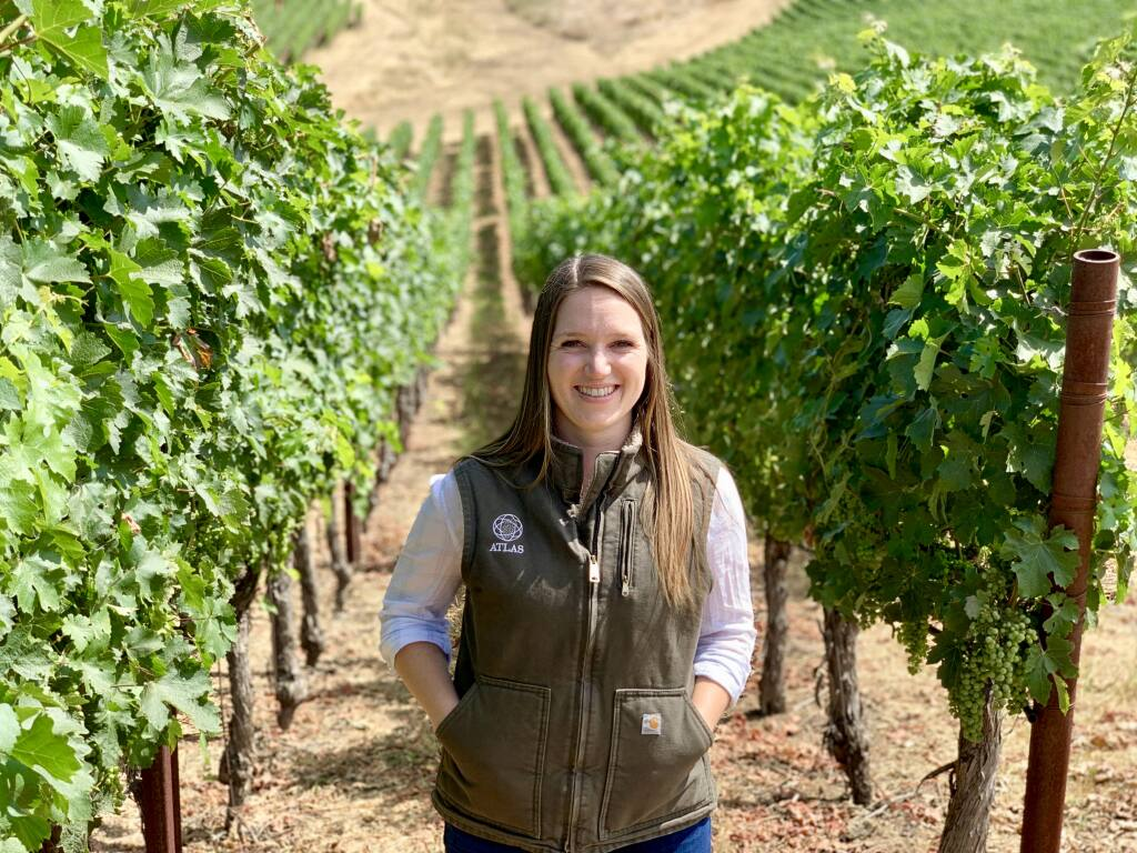 Mia Stornetta, 28, winery relations manager, Atlas Vineyard Management, Napa, is a North Bay Business Journal 2021 Forty Under 40 winner.