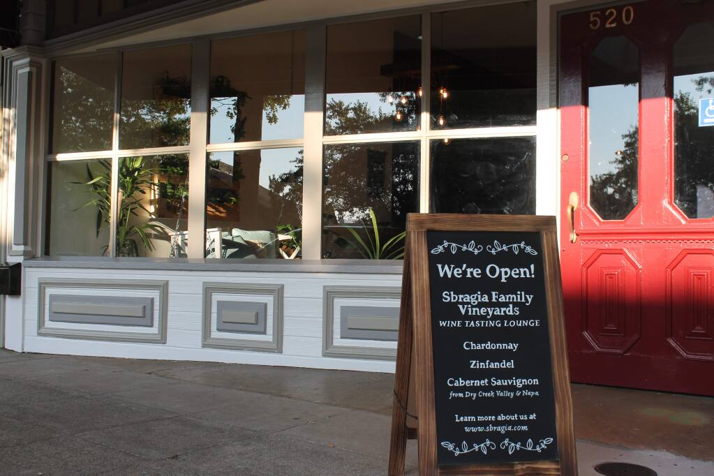 The newest downtown tasting room is now open. Photo by Scarlett Heffernan