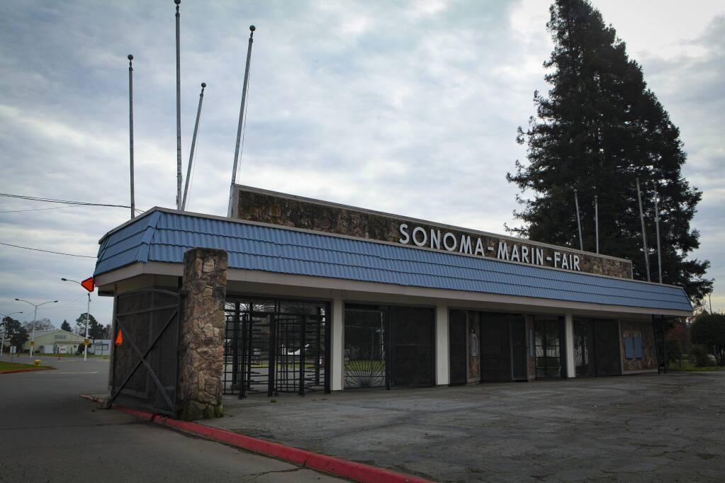 Petaluma, CA, USA. Monday, January 20, 2020._The Sonoma-Marin Fair in Petaluma(CRISSY PASCUAL/ARGUS-COURIER STAFF)