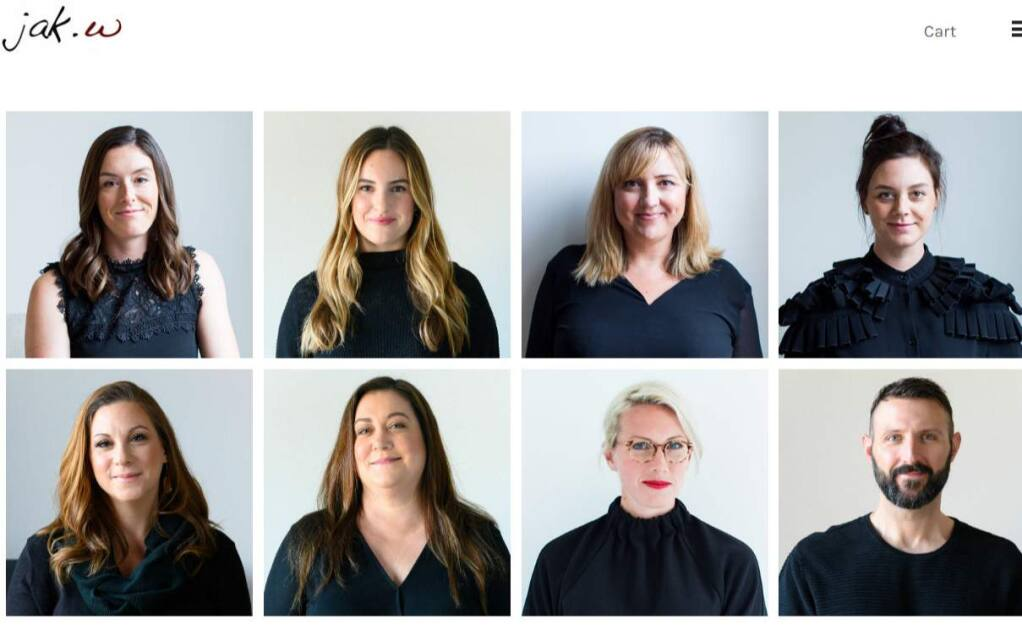 The team of Jak.w. design advocates.