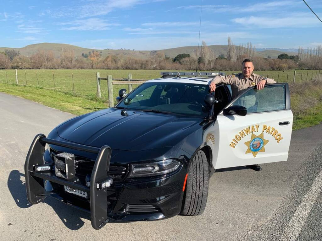 Aristotle Wolfe, a captain in the California Highway Patrol, has been named the new commander of the CHP's Santa Rosa office. (CHP photo)