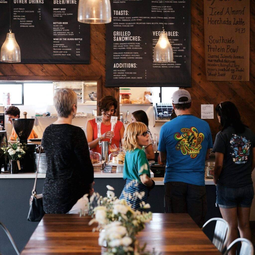 Southside Cafe on Old Sonoma Road in Napa Valley. (Emma K. Morris )