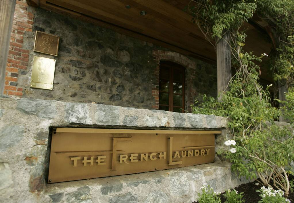 FILE - The French Laundry restaurant in Yountville, Calif. (AP Photo/Eric Risberg, File)
