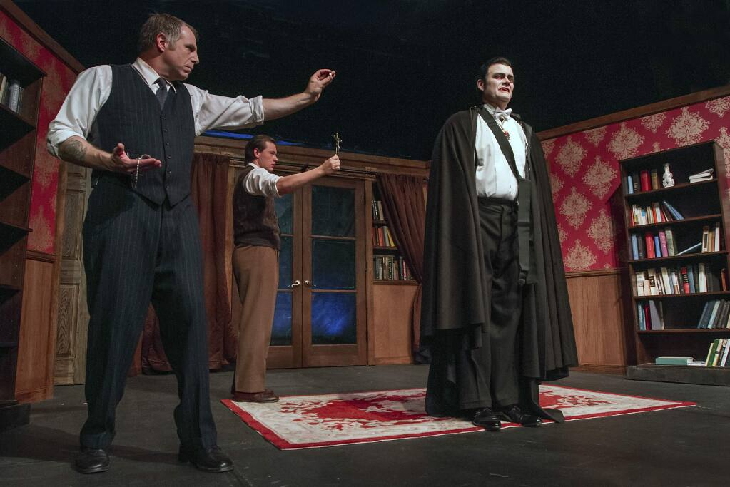 'Dracula' was directed by Nellie Cravens, who will share her craft secrets at her new acting class starting this month. (Robbi Pengelly/Index-Tribune)