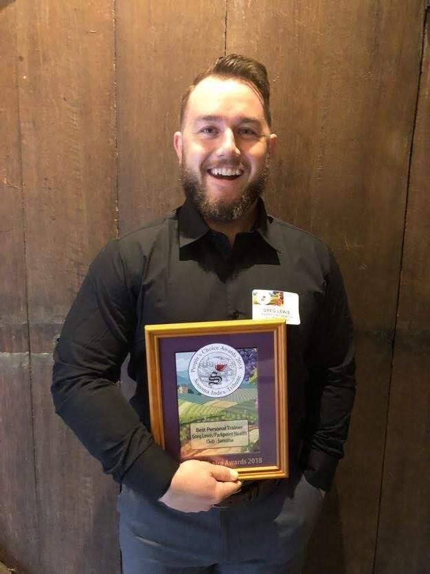 Best Personal Trainer - Greg Lewis/Parkpoint Health Clubs - Sonoma