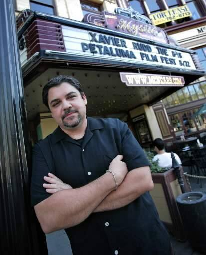 Mike Traina organizes the Petaluma Film Festival. (Photo byTerry Hankins/ For The Argus-Courier)