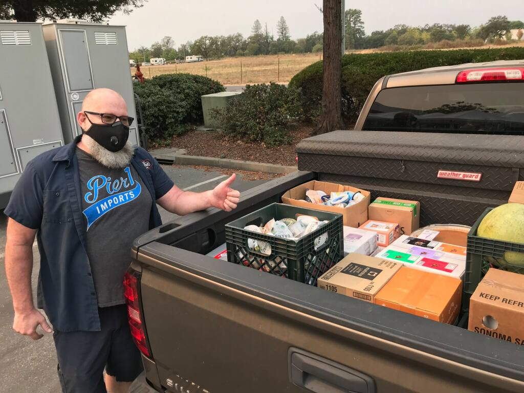 Sonoma Overnight Support will use its grant from the Catalyst Fund to continue provide meals to homebound seniors in the Springs. (I-T file photo)