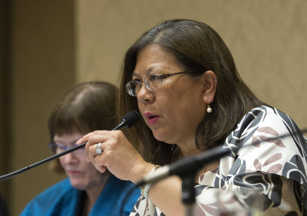 California Controller Betty Yee on June 28, 2016 (AP Photo/Rich Pedroncelli, File)