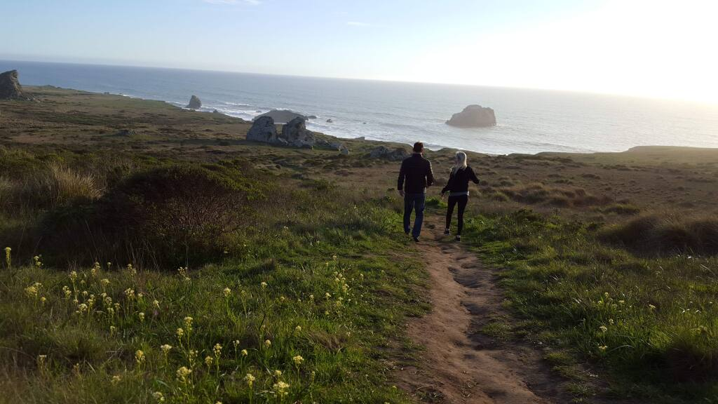 photos by linda castrone / the press democratThe Kortum Trail winds along the Sonoma County coast and offers panoramic ocean views that stretch all the way from Goat Rock to Point Reyes.