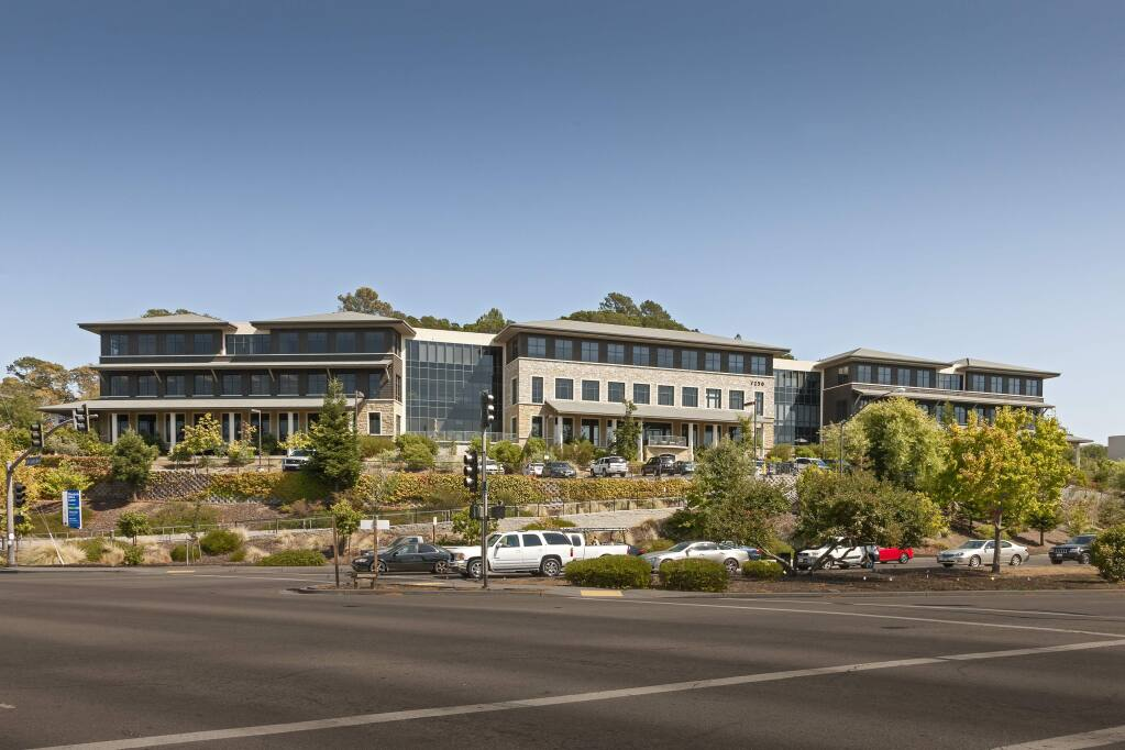 Basin Street Properties built Woodside Office Center in 2003 and sold it in 2005 as part of a $263 million portfolio sale. Ellis Partners led the purchase of the 89,000-square-foot Novato building in early July 2015 for nearly $20 million. (courtesy of JLL)