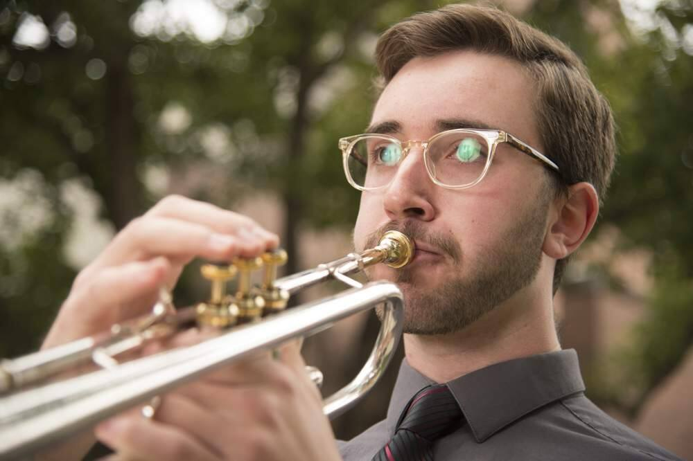 Peter Altamura of Santa Rosa will perform March 13 at Carnegie Hall during the New York Wind Band Festival. (University of the Pacific.)