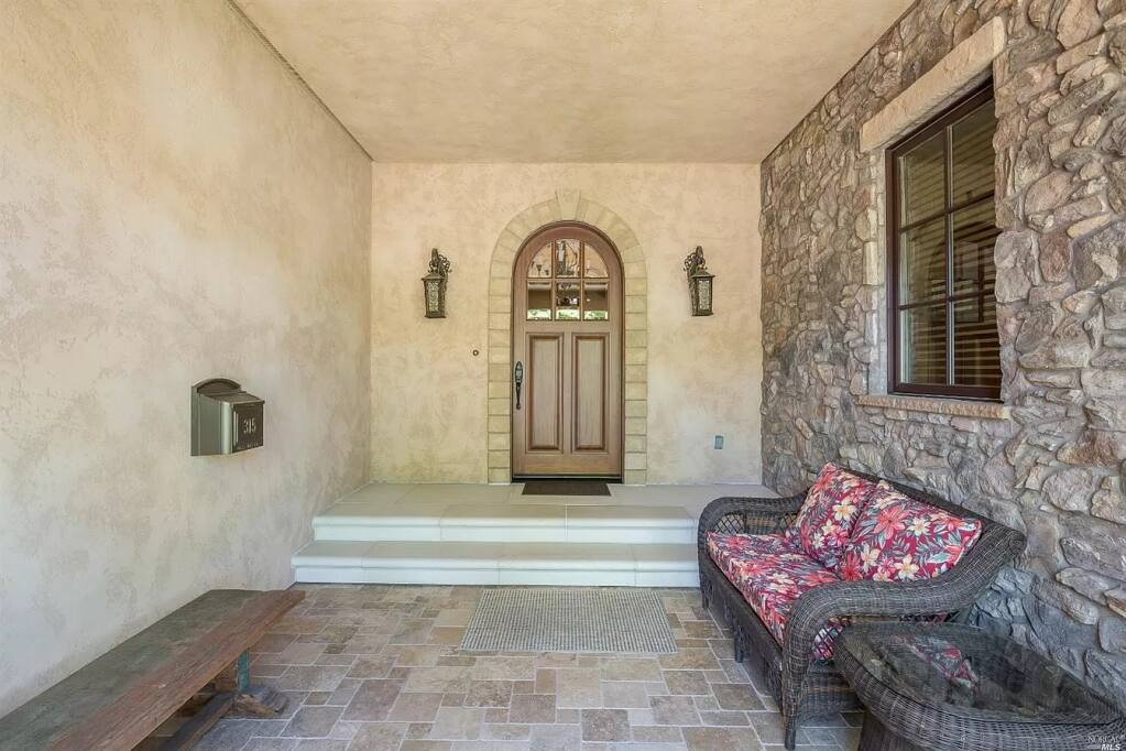 Real estate listing of Second Street house shows entryway of Jeff Civian's Second Street home, which has since been sold. (Zillow)
