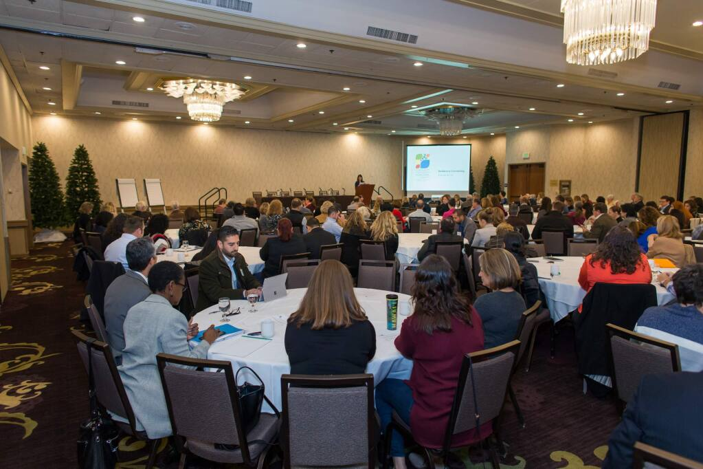 More than 250 nonprofit leaders gathered at the Resilience Convening, an event hosted by the Community Foundation of Sonoma County, to discuss a coordinated fire rebuilding and recovery effort.