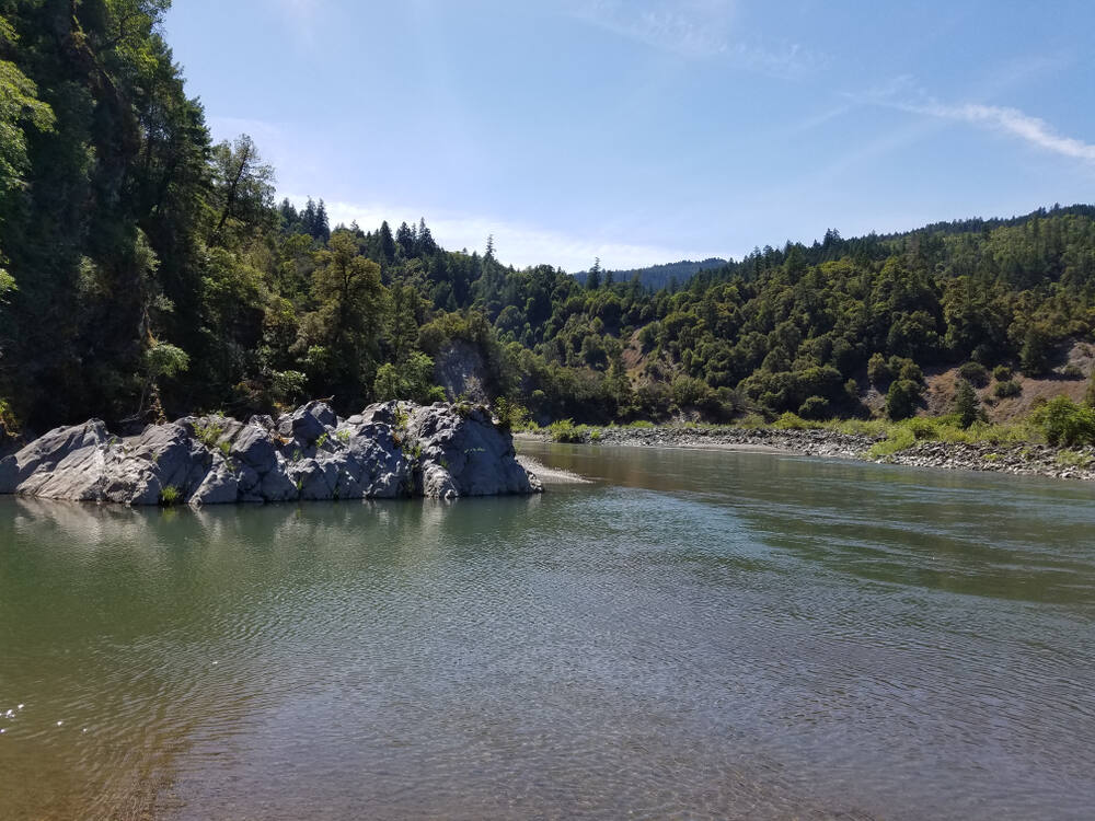 South Fork Trinity River in Humboldt County. (Adurable Creations / Shutterstock)
