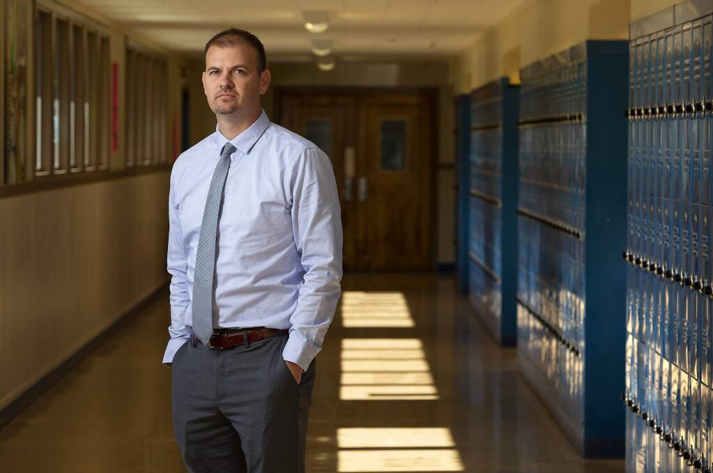 Windsor Unified School District Superintendent Jeremy Decker (John Burgess/The Press Democrat, file)