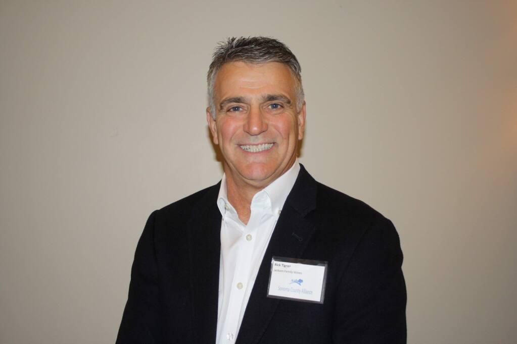 Rick Tigner, CEO, Jackson Family Wines, May, 2019