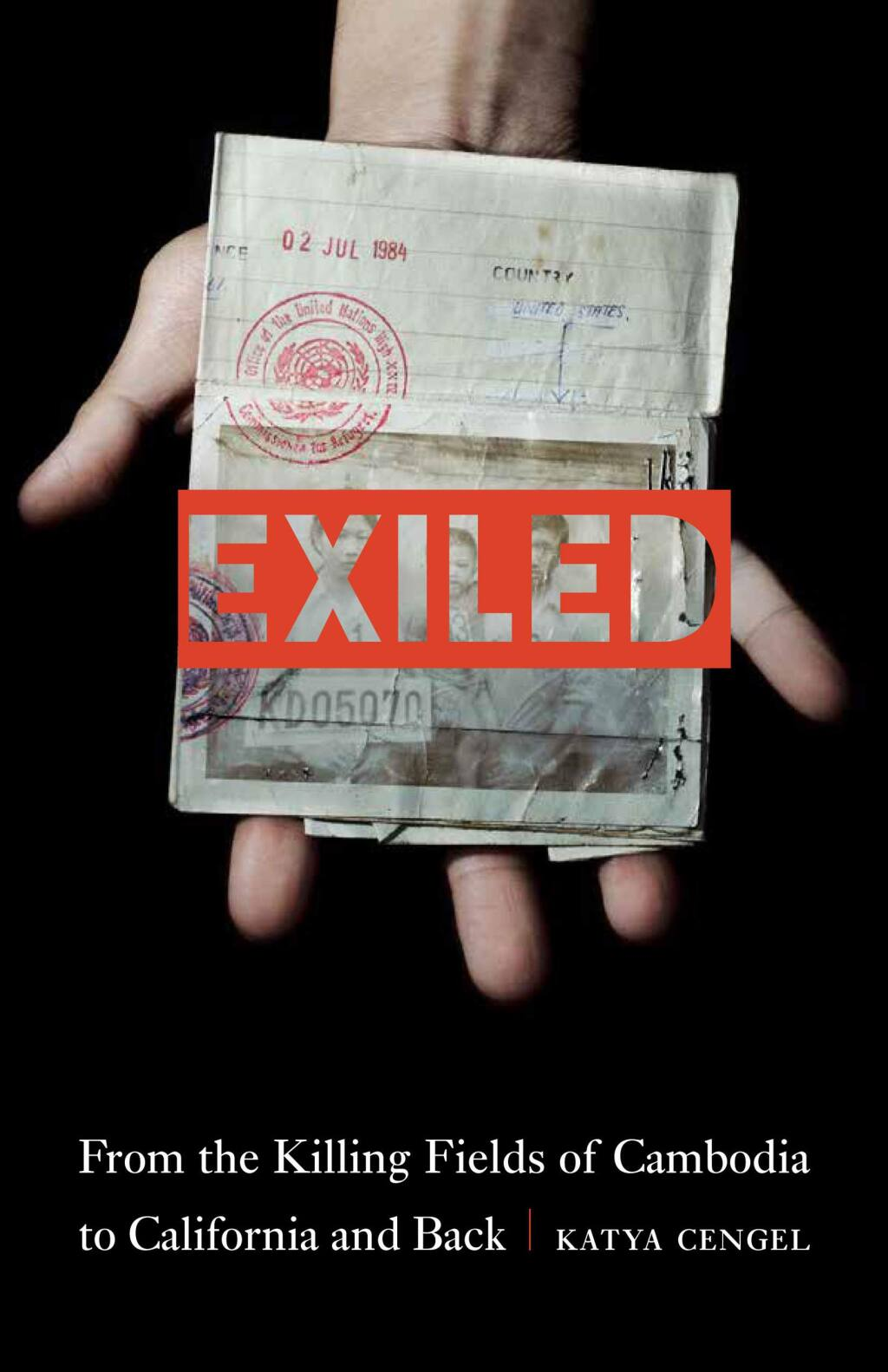 'Exiled' is the title of a new book by journalist Katya Cengel.