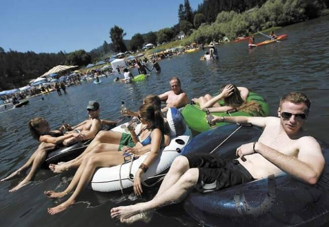 Monte Rio Beach: Everyone knows Johnson's Beach in Guerneville. But locals are keen on Monte Rio Beach, located on the north side of the Russian River below the bridge of Monte Rio. Fuel up at the concession stand and get all your flotation devices at the boat rental facility, both located in the parking lot. Highway 116, Monte Rio, 707-865-0400, mrrpd.org/monteriobeach.html (Kent Porter/ Press Democrat file photo) See more hidden spots at www.sonomamag.com/category/hidden-sonoma.
