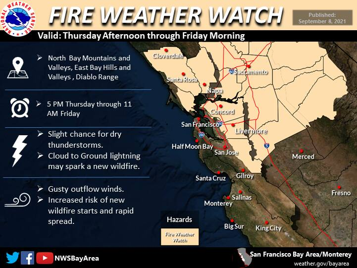 (National Weather Service Bay Area)
