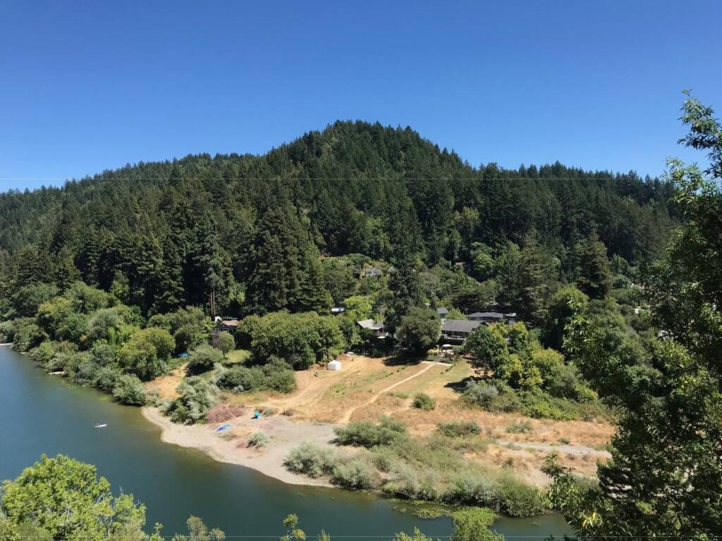Neeley Hill near Guerneville is the site of the proposed Silver Estates timber harvest plan. (Photo courtesy of John Dunlap)