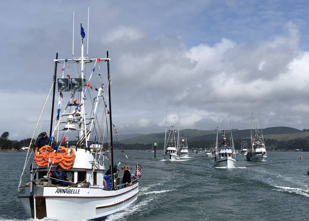 The Bodega Bay fleet is part of the group of commercial fishermen in District 10 who have rejected a Shotgun Start to the Dungeness crab season. Jason Windsor photo.
