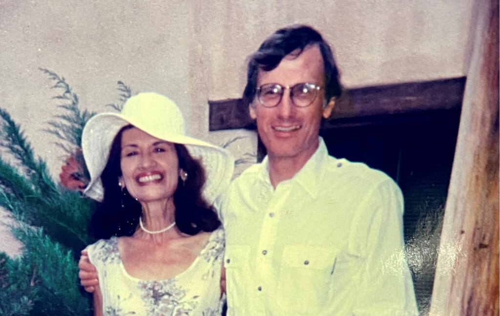 James and Maria Pendergast at their wedding. (Submitted)