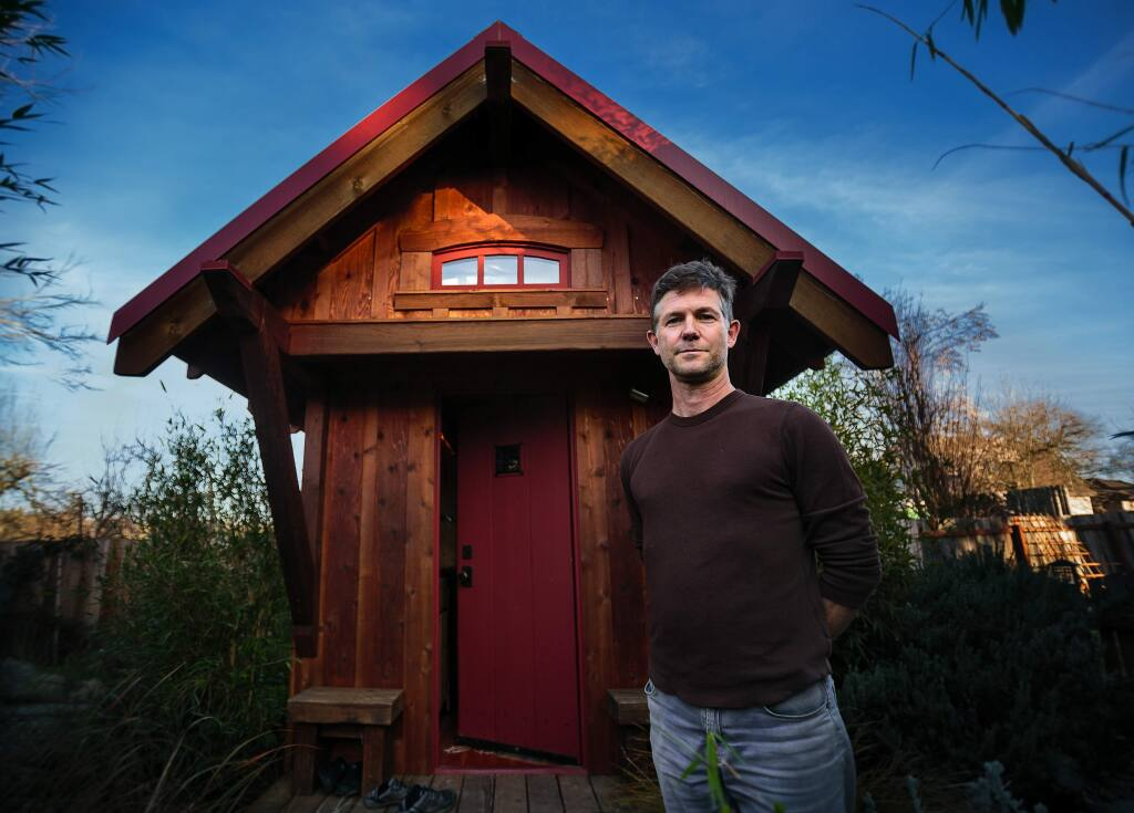 Jay Shafer and his Tiny House in Graton