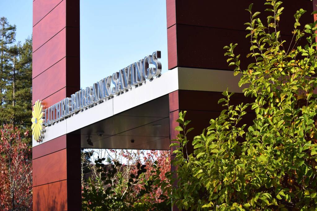 Luther Burbank Savings branch in Santa Rosa