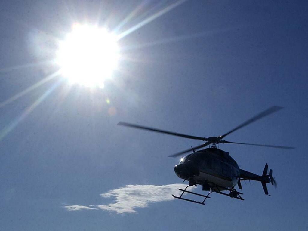 Sonoma County Sheriff's Office's  Henry 1 helicopter (The Press Democrat)
