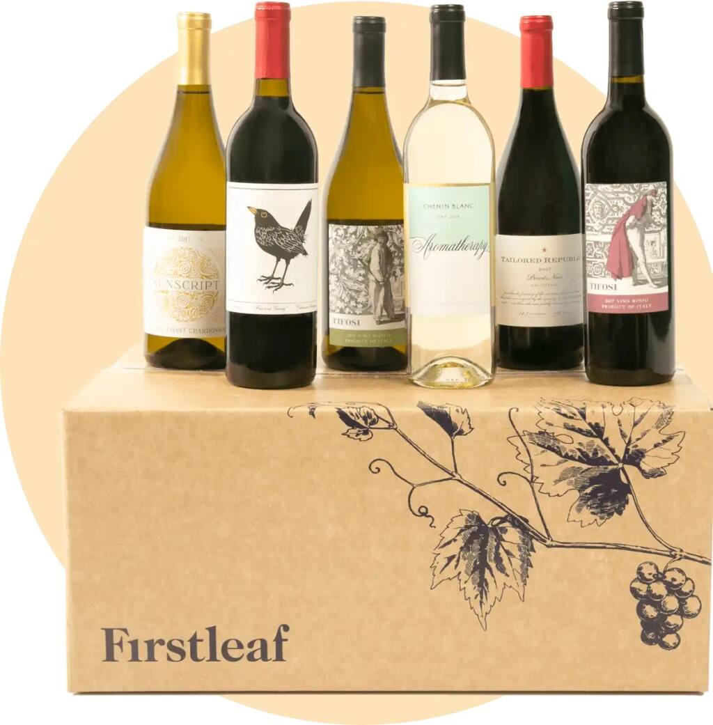 Napa-based wine club Firstleaf uses technology such as analysis of consumer preferences to select wines that subscribers may like. (courtesy of Firstleaf)