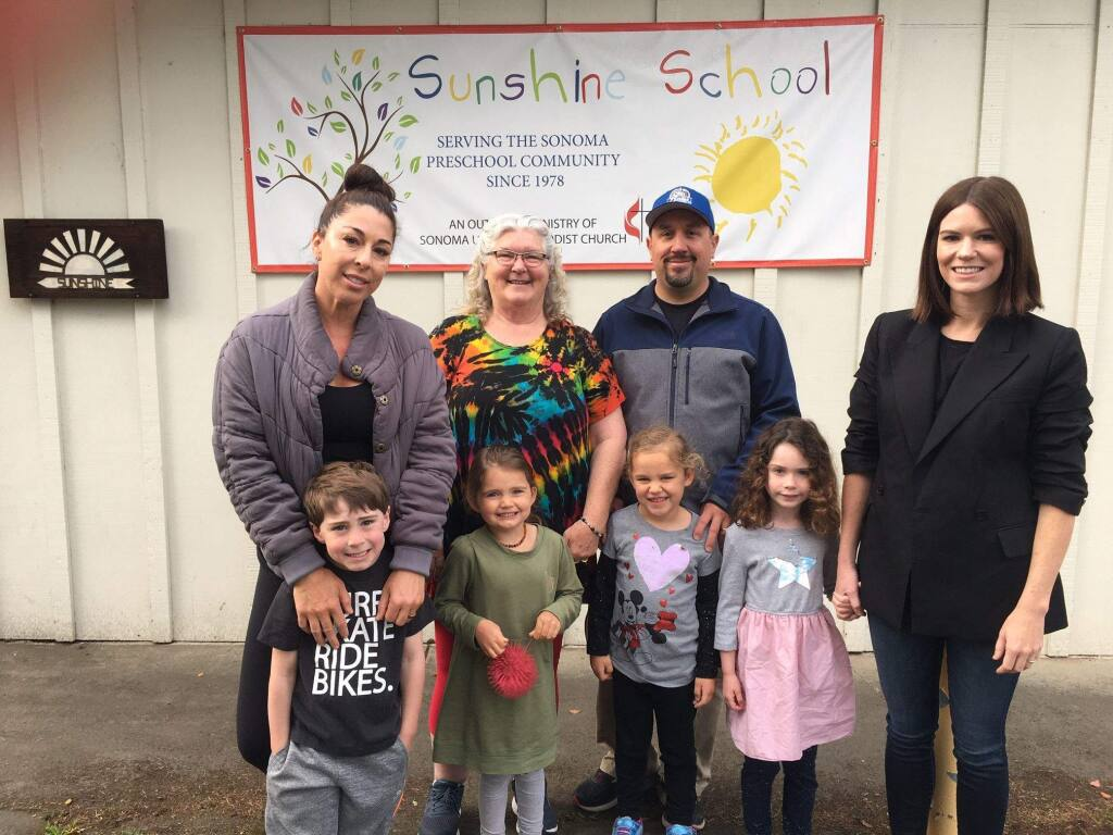 Current and past students of Sunshine Preschool.