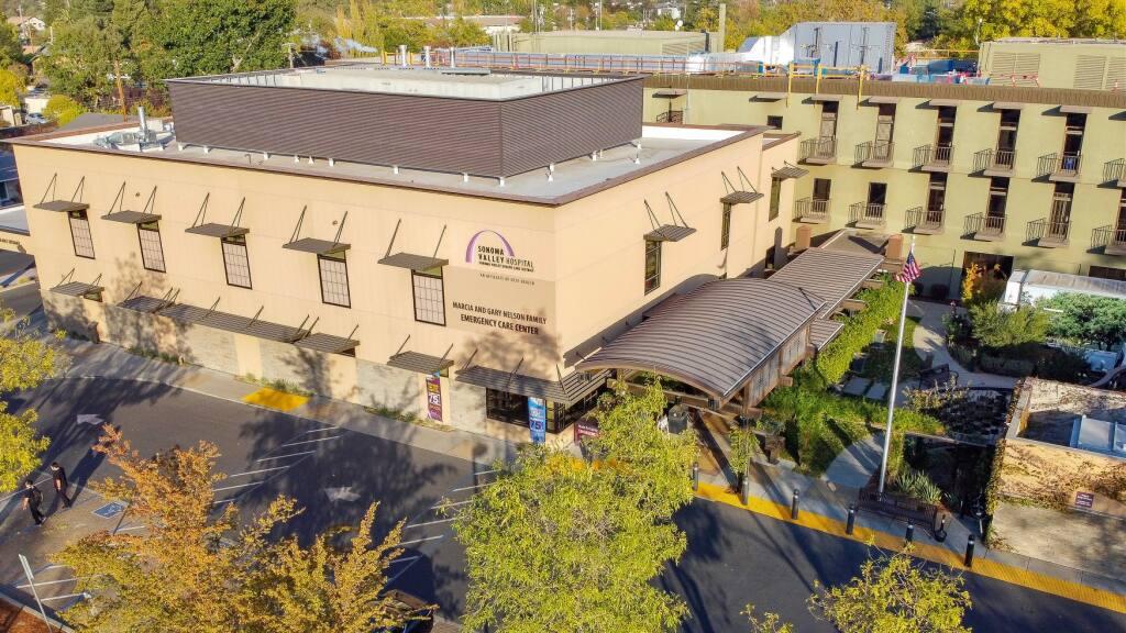 Sonoma Valley Hospital. Oct. 30, 2020.